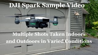 "DJI Introduced the new ""Spark"" compact camera drone on May 24th. Here is a series of sample video shots in varying lighting conditions - indoors and outdoors. Ck this channel for other great Spark and Drone Vids.Please see our full written article (with video links) at: http://wp.me/p25InU-1XGn  (note - we continually add to and update our articles.Order your Spark at: https://goo.gl/k3JL6kFacebook: https://www.facebook.com/droneflyers/Twitter: https://twitter.com/bestquads?lang=enFull Droneflyers.com blog at http://www.droneflyers.com"