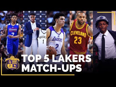 Video: Lakers 2017-18 Schedule: Top 5 Match-Ups You Don't Want To Miss