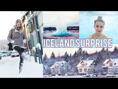 THE BEST BIRTHDAY SURPRISE TRIP TO ICELAND | Inthefrow видео
