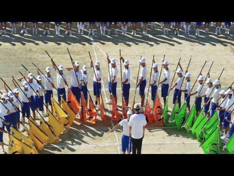 『鶴中公式』 平成28年度 鶴城中学校 卒業式 「 矢作川賛歌」