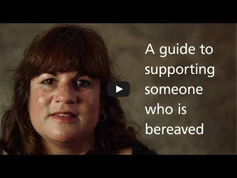 One More Minute - A guide to supporting someone who is bereaved