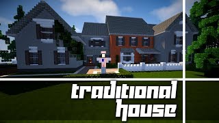 I Built a NEW House! Let's Tour It! (Brick Traditional House)