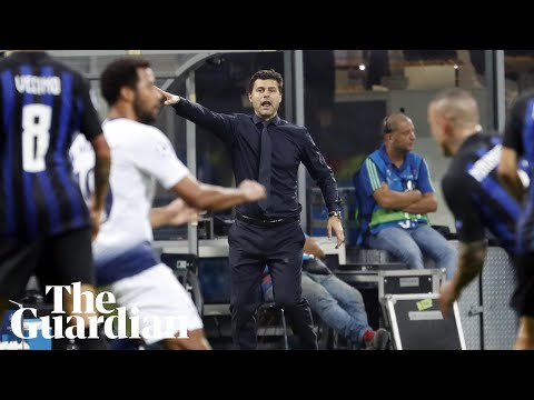 'Don't disrespect my players': Pochettino angry at media after Spurs defeat (видео)