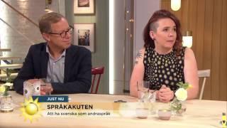 Nyhetsmorgon i TV4 från 2017-06-22: Språkakuten om att ha svenska som andraspråk och vad man ska tänka på för att undvika de vanligaste ...