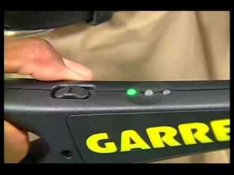 Garrett Super Wand security hand held metal detector at Regton Ltd.