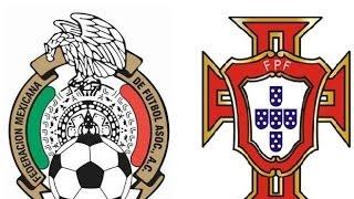 Mexico Vs Portugal | Copa Inernacional 2014