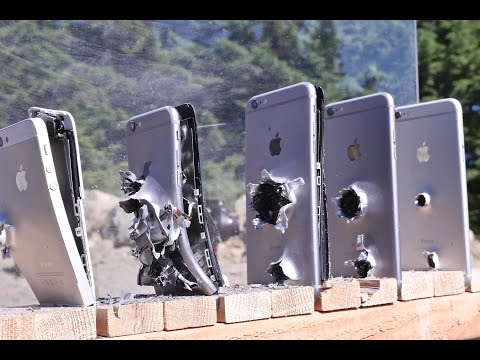Have you any Idea How Many iPhones It Takes To Stop An AK-74 Bullet?