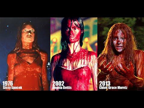 Carrie, a Estranha 1976 vs 2002 vs 2013
