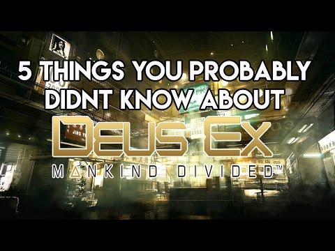 5 Must Know Tricks In Deus Ex: Mankind Divided