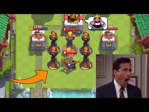 Funny Moments, Fails and Glitches - Clash Royale Mountage #2 (видео)