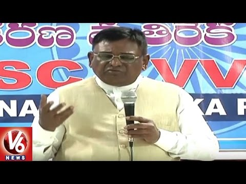 Ex-Minister-Vinod-Attends-For-SC-VVPS-Meeting-Hyderabad-V6-News