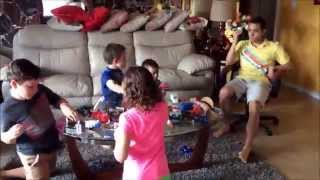 The Kids Playing in timelapse!