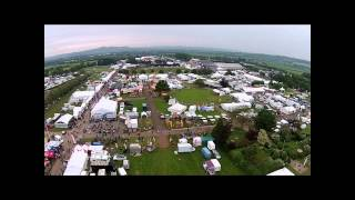 Royal Bath and West Show Aerial Video Compilation 2014