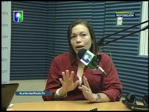 Entrevista a Carmen Sosa en La Verdad en Radio