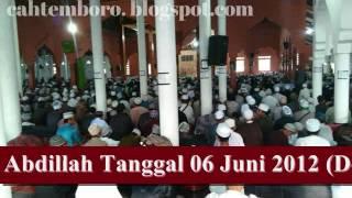 1. BAYAN ISRA' MI'RAJ OLEH KH.UZAIRON THOIFUR ABDILLAH TANGGAL 06 JUNI 2012