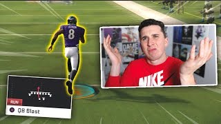He does QB draw with Lamar Jackson every play & is a pro, so I called him out!