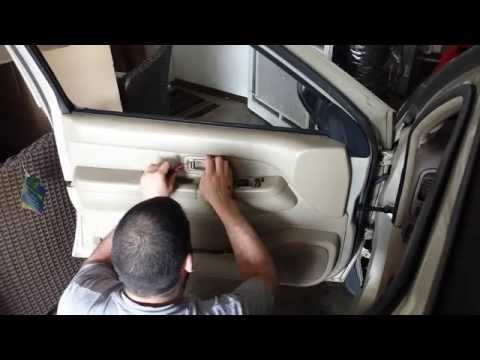1996-2004 Nissan Pathfinder: Front door check replacement