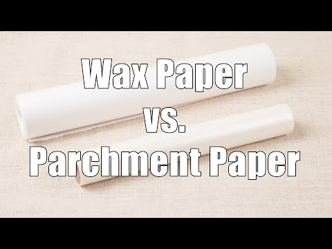 Parchment Paper Versus Wax Paper: Home Cooking 101