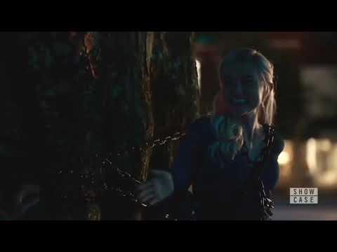 Legacies 2x04 Lizzie Asks Josie To Stab Her, Josie Uses Black Magic To Save Lizzie