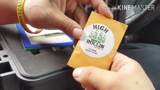 High Rollin extracts Tahoe OG! by Green Steam
