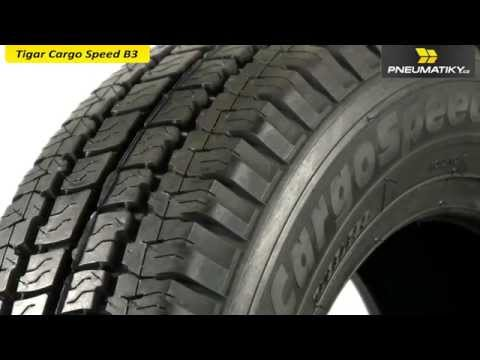 Youtube Tigar Cargo Speed B3 165/70 R14 C 89/87 R Letní