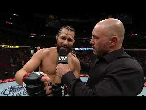 UFC 239: Jorge Masvidal Octagon Interview