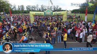 Unsyiah Fun Bike & Fun Walk Tahun Ini Makin Meriah