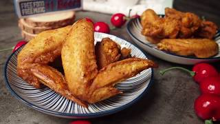 This video was inspired by our friends who kept asking us if they could get crispy wings using the air-fryer or their oven.