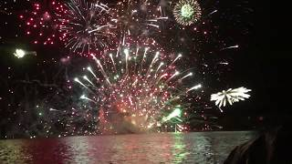 Skyfire 2019 fireworks explosion. Watch to the end.