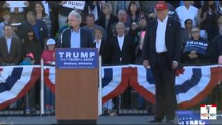 Madison (AL) United States  City new picture : Donald Trump Endorsed by Senator Jeff Sessions Madison, AL 2/28/16