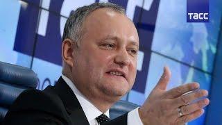 Пресс-конференция президента Молдавии Игоря Додона. Полная версия