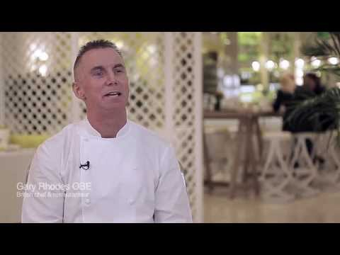 British restaurateur Gary Rhodes looks for GCC businesses with vision and ambition