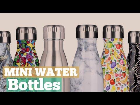 Mini Water Bottles // 12 Mini Water Bottles You've Got A See!