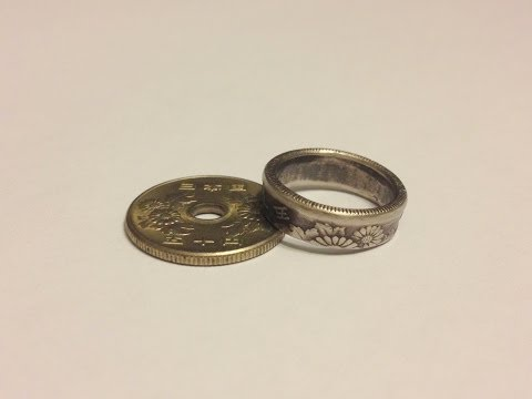 Handcrafted Coin Rings Beautiful Handmade Jewelry