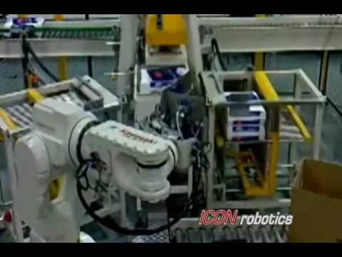 Robotic Case Packing Equipment