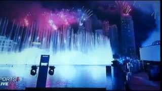 2013 Fireworks Burj Khalifa Tower Dubai Full HD
