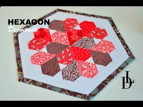 patchwork - hexagon diamonds