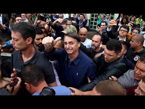 Brasilien: Bolsonaro und Haddad gehen in die Stichwah ...
