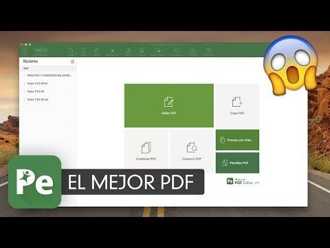 iSkysoft PDF Editor Pro - editar PDFs Texto e imágenes, firmar contratos & Mas