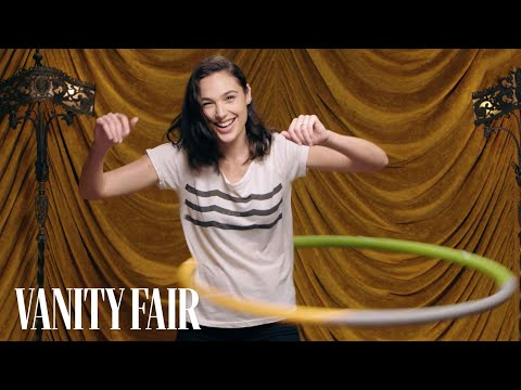 Gal Gadot Shows Off Her Hula Hooping Skills | Secret Talent Theatre | Vanity Fair