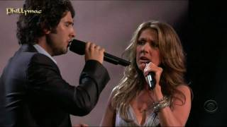 "Video Celine Dion & Josh Groban Live ""The Prayer"" (HD 720p) MP3, 3GP, MP4, WEBM, AVI, FLV Juni 2019"