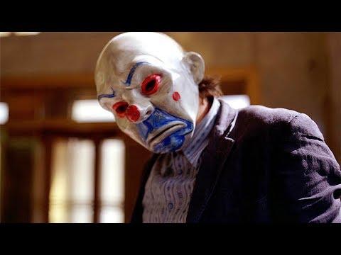 Bank Robbery Scene (JOKER) - The Dark Knight (2008) Movie CLIP HD