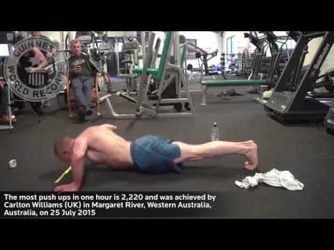 原本還認為50歲的大叔不可能在1小時內做完2220個伏地挺身…我錯慘了!
