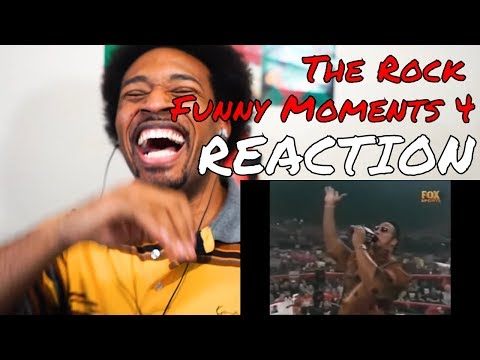 The Rock Funny Moments 4 REACTION | DaVinci REACTS