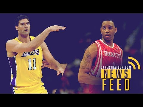 Video: Lakers Feed: Brook Lopez's Replacement, Plus L.A. Almost Traded For Tracy McGrady