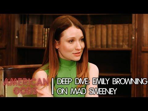 Deep Dive: Emily Browning on Mad Sweeney   American Gods - Season Two