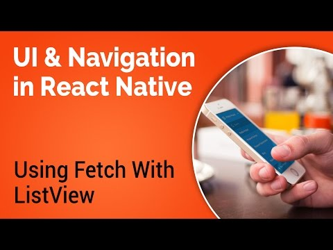 Learn about UI and Navigation in React Native - Part 5