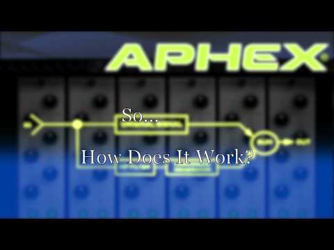 Alan Parsons introduces the new Aphex EXBB 500