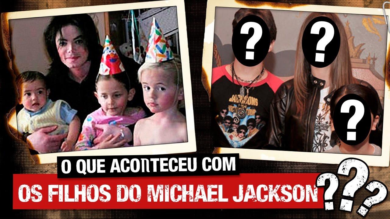 O que aconteceu com os filhos do Michael Jackson?