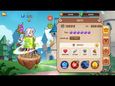 Idle Heroes - Emily 10 Star + Tower Of Oblivion 479